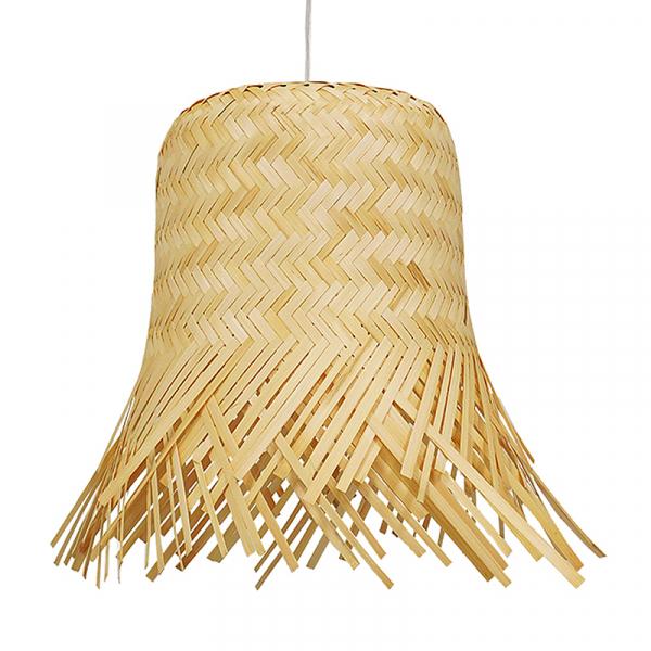 Φωτιστικό Οροφής Μονόφωτο Globostar Hawaii 01103 Bamboo