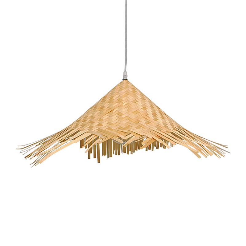 Φωτιστικό Οροφής Μονόφωτο Globostar Ricehat 01666 Bamboo