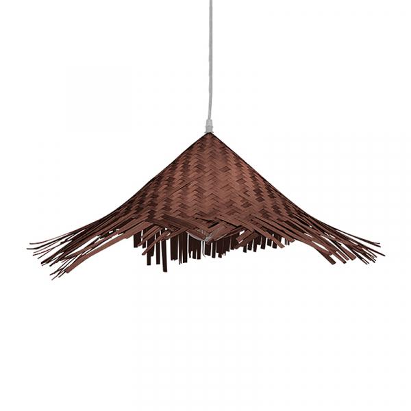 Φωτιστικό Οροφής Μονόφωτο Globostar Ricehat 01667 Bamboo