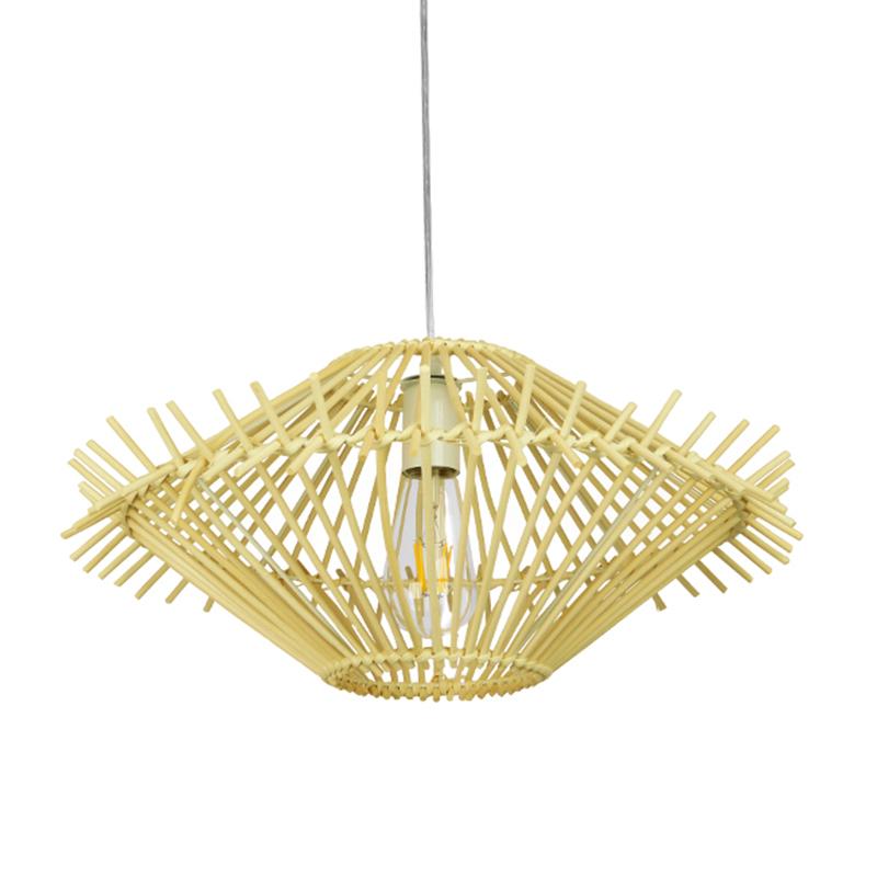 Φωτιστικό Οροφής Μονόφωτο Globostar Sasso 01601 Bamboo
