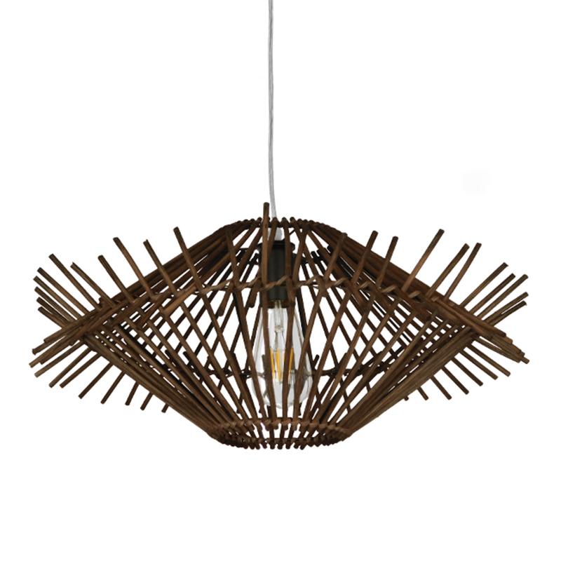 Φωτιστικό Οροφής Μονόφωτο Globostar Maddy 01602 Bamboo