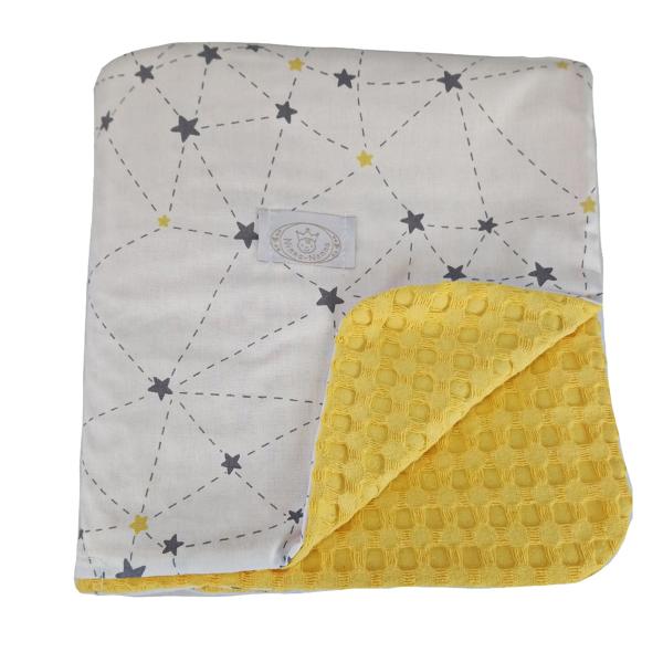 Κουβέρτα Πικέ Κούνιας Ninna Nanna Galaxy