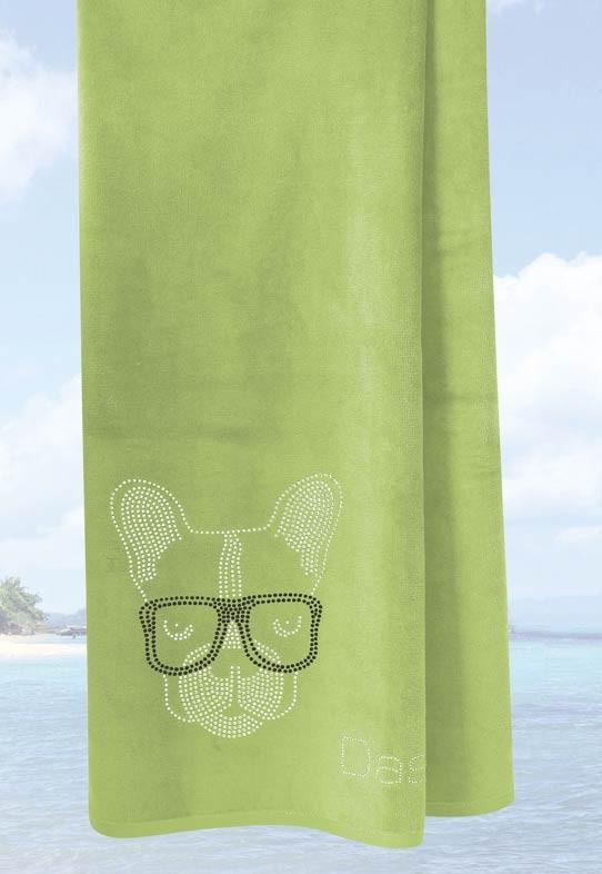 Πετσέτα Θαλάσσης (75x150) Das Home Beach Embroidery 468