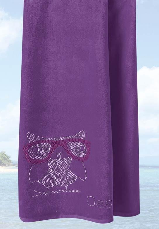 Πετσέτα Θαλάσσης (95×180) Das Home Beach Embroidery 474