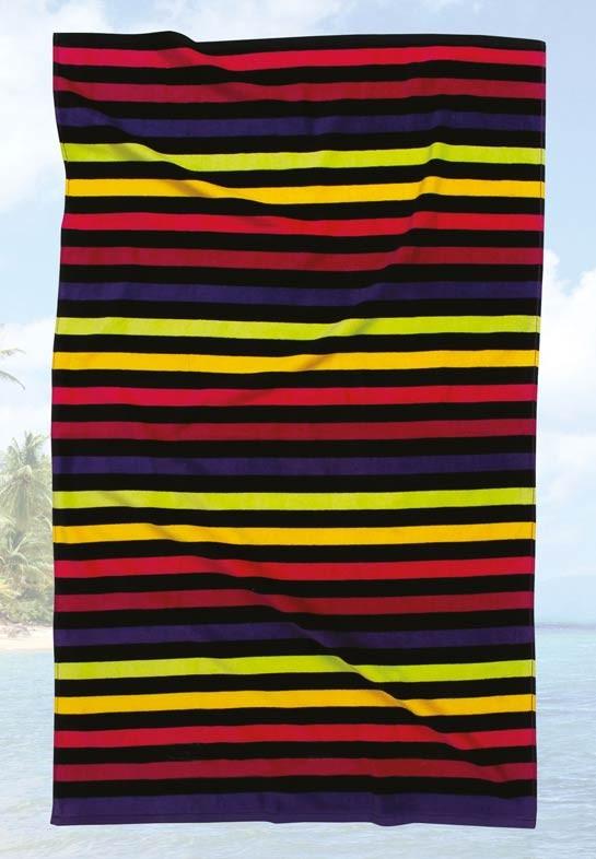 Πετσέτα Θαλάσσης (75x150) Das Home Beach Prints 480