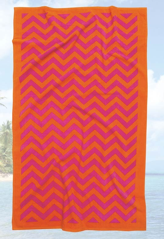 Πετσέτα Θαλάσσης (90×180) Das Home Beach Prints 475