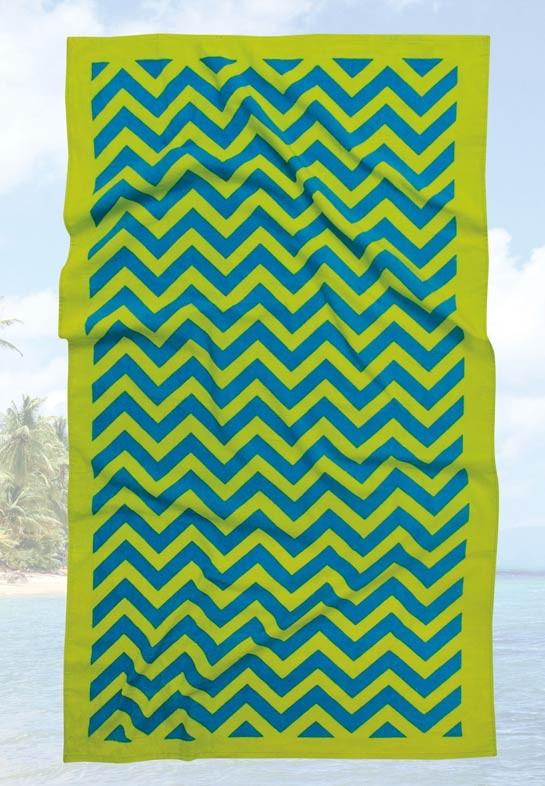 Πετσέτα Θαλάσσης (90×180) Das Home Beach Prints 476