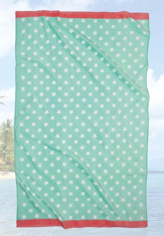 Πετσέτα Θαλάσσης (90×180) Das Home Beach Prints 478