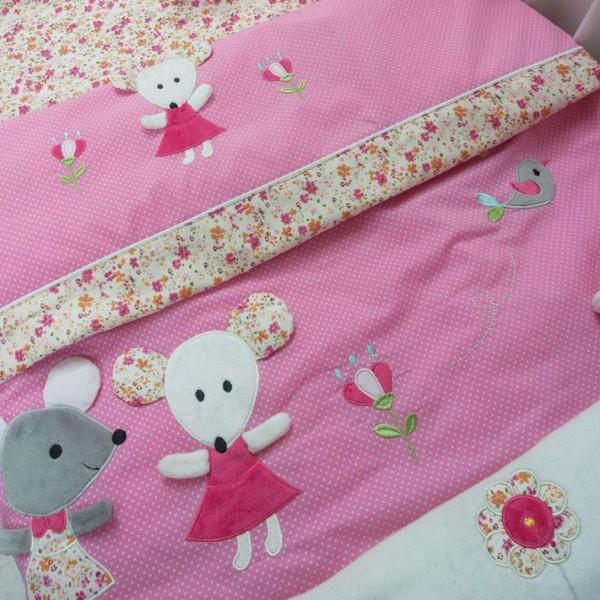 Κουβερλί Κούνιας (Σετ) Das Home Dream Embroidery 6275