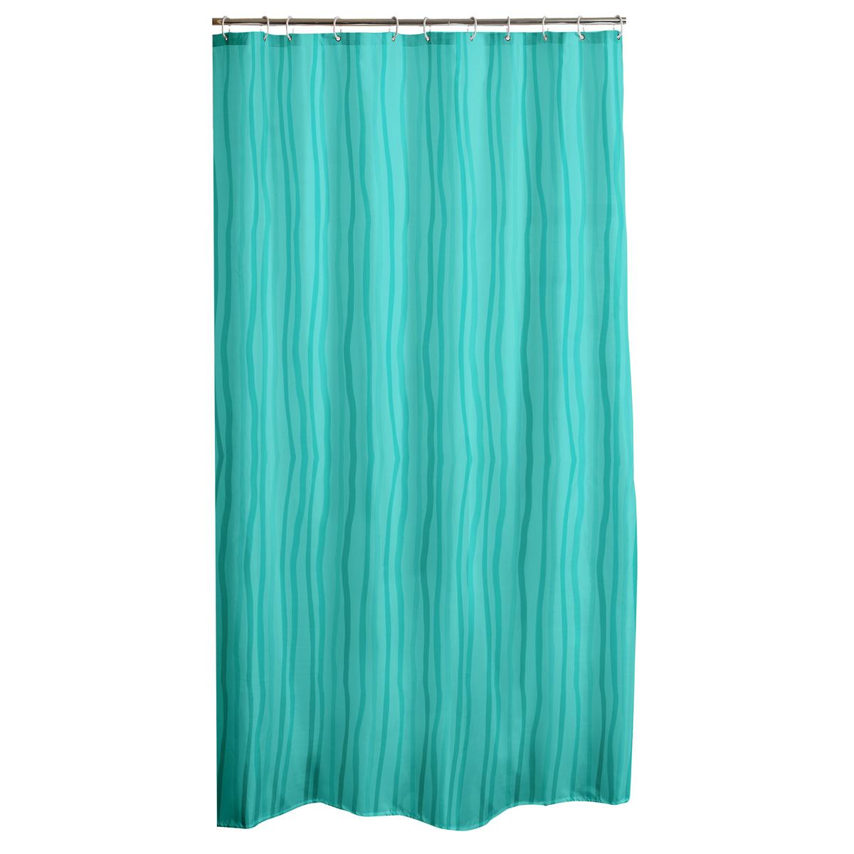 Κουρτίνα Μπάνιου Πλαστική (180×200) L-C Waves Vert Menthe 6RD191VM