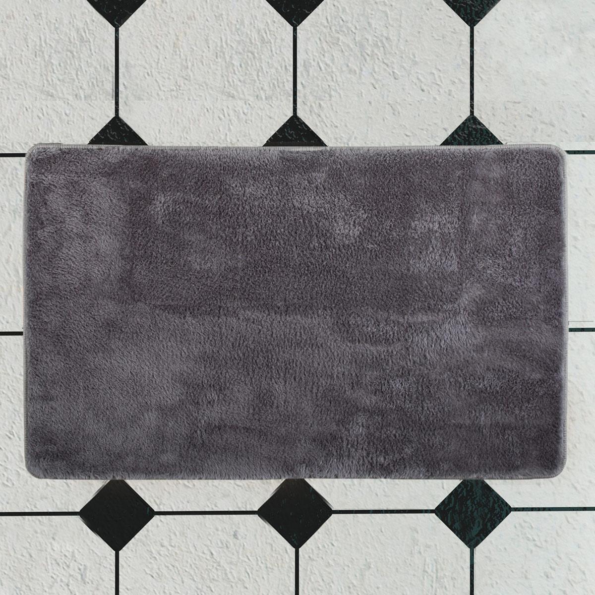 Πατάκι Μπάνιου (70×120) Chilai Dark Grey