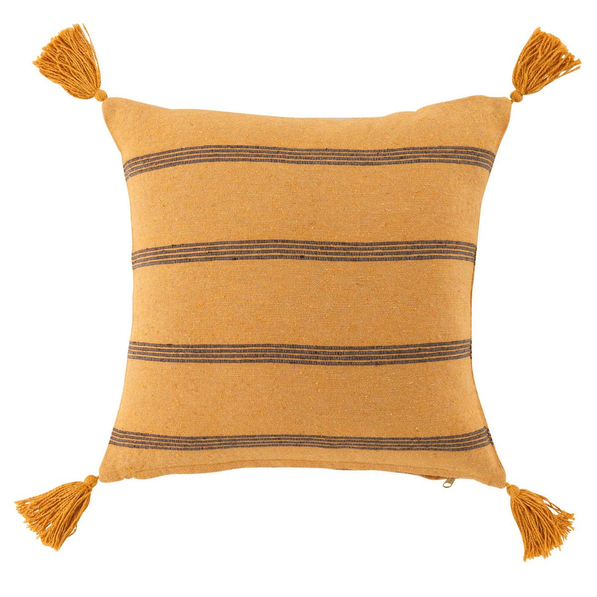 Διακοσμητικό Μαξιλάρι (40×40) L-C Jakady Jaune 1643604