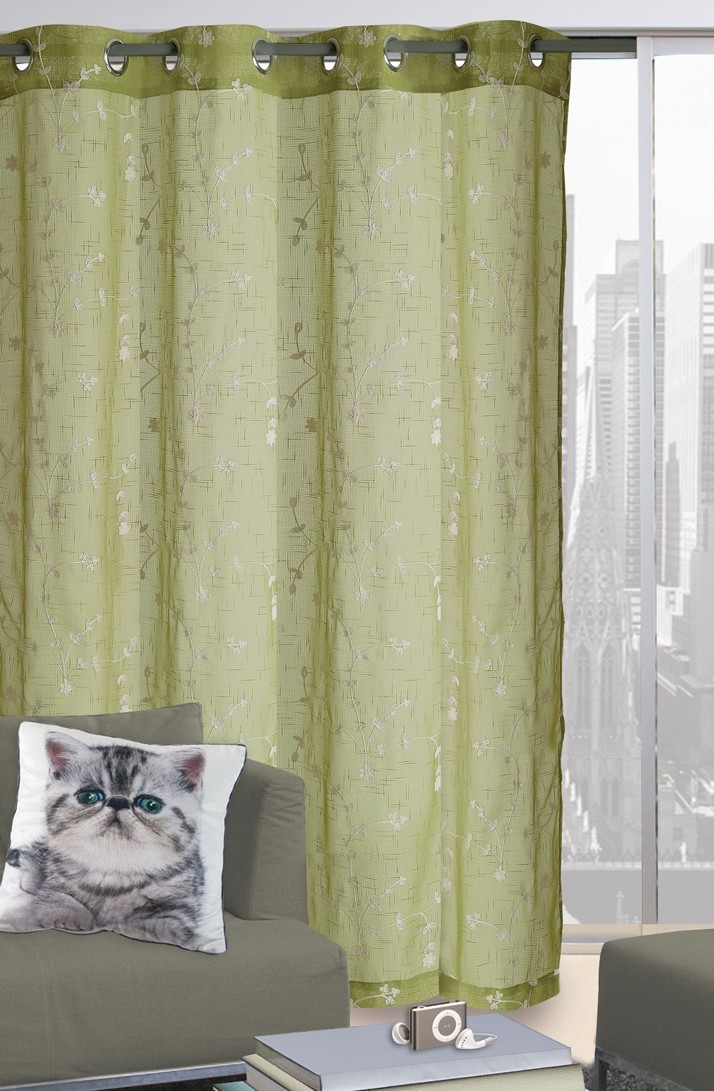 Κουρτίνα (140x280) Με Τρουκς Das Home 2028