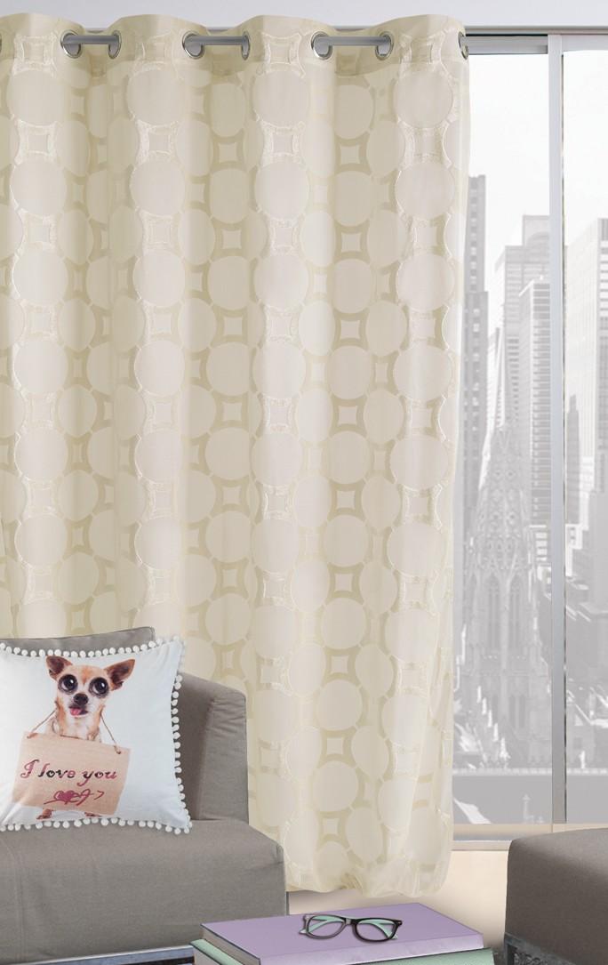 Κουρτίνα Με Τρουκς (300x280) Das Home 2022