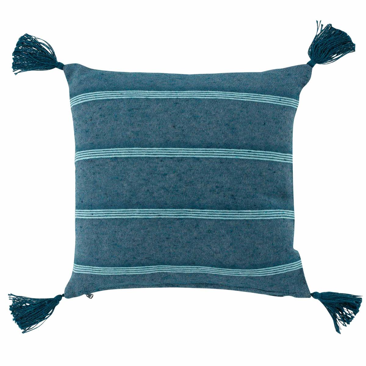 Διακοσμητικό Μαξιλάρι (40×40) L-C Jakady Bleu 1643603