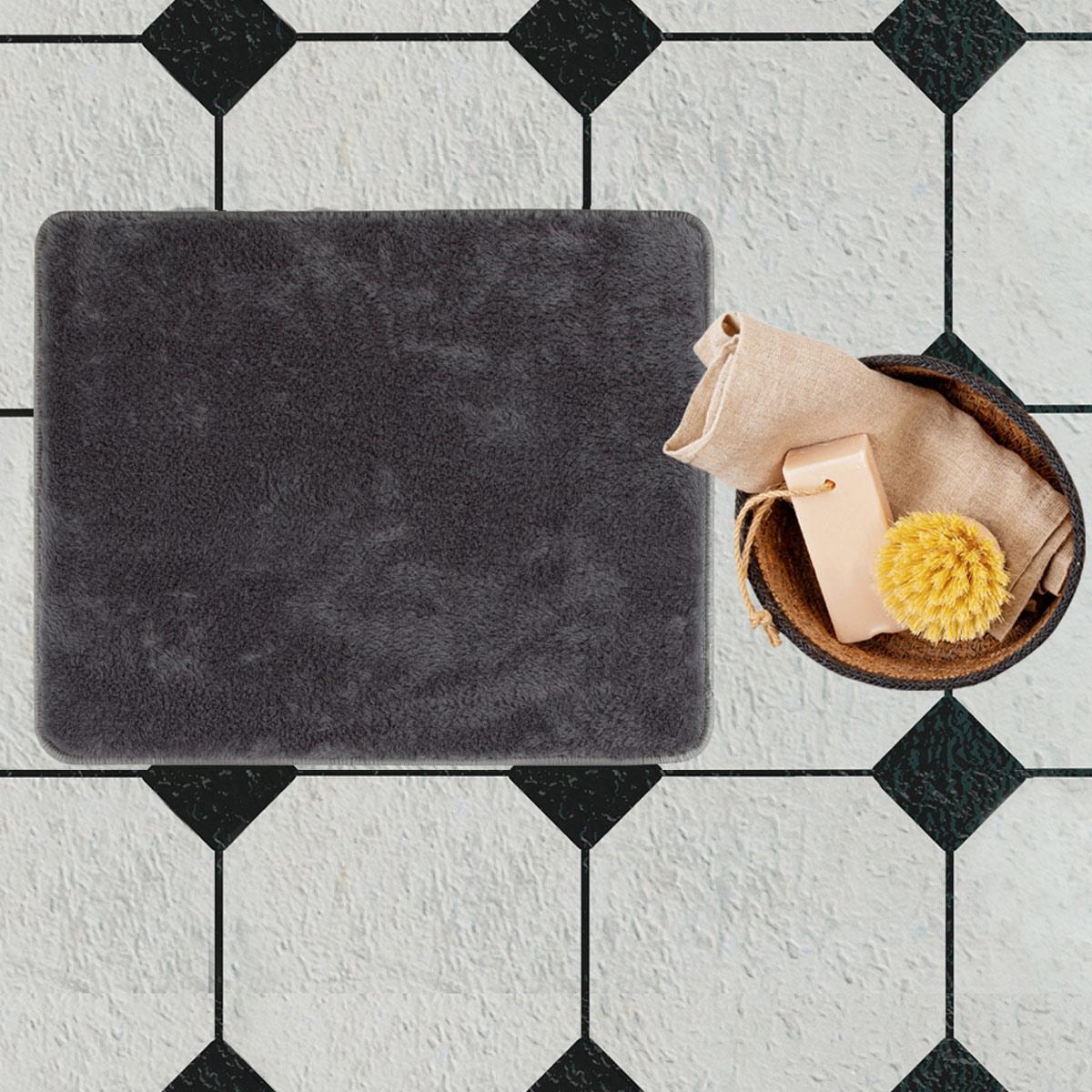 Πατάκι Μπάνιου (50×80) Chilai Anthracite