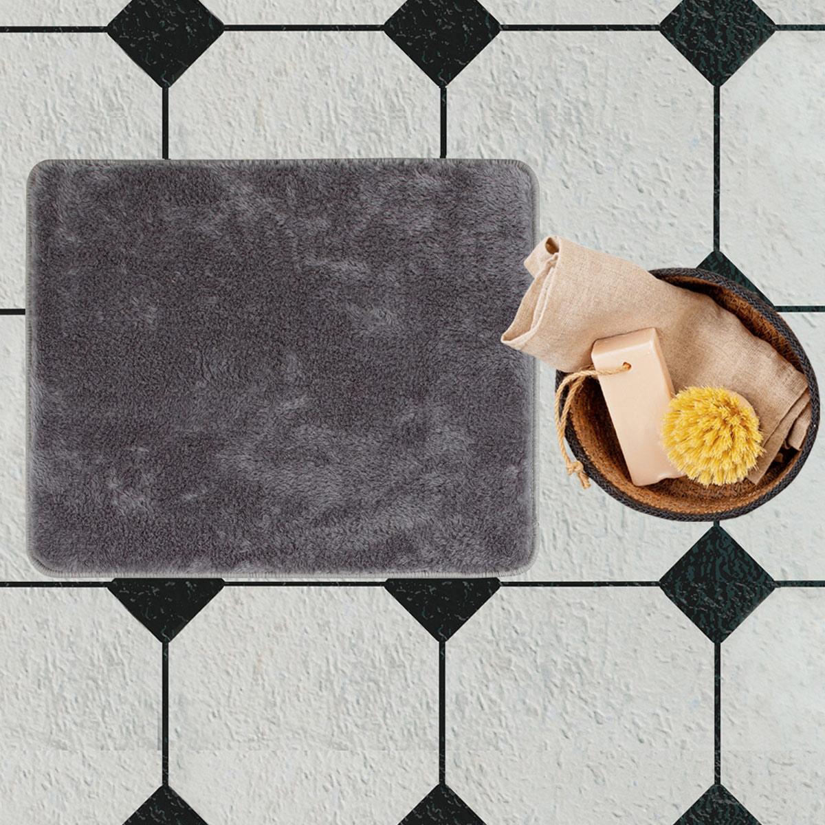 Πατάκι Μπάνιου (50×80) Chilai Dark Grey
