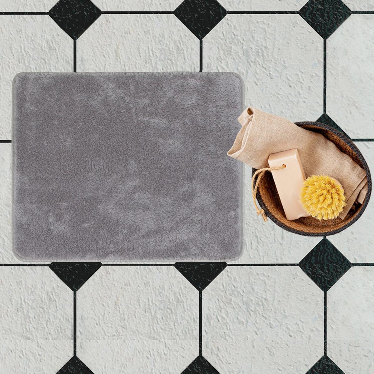 Πατάκι Μπάνιου (50×80) Chilai Light Grey