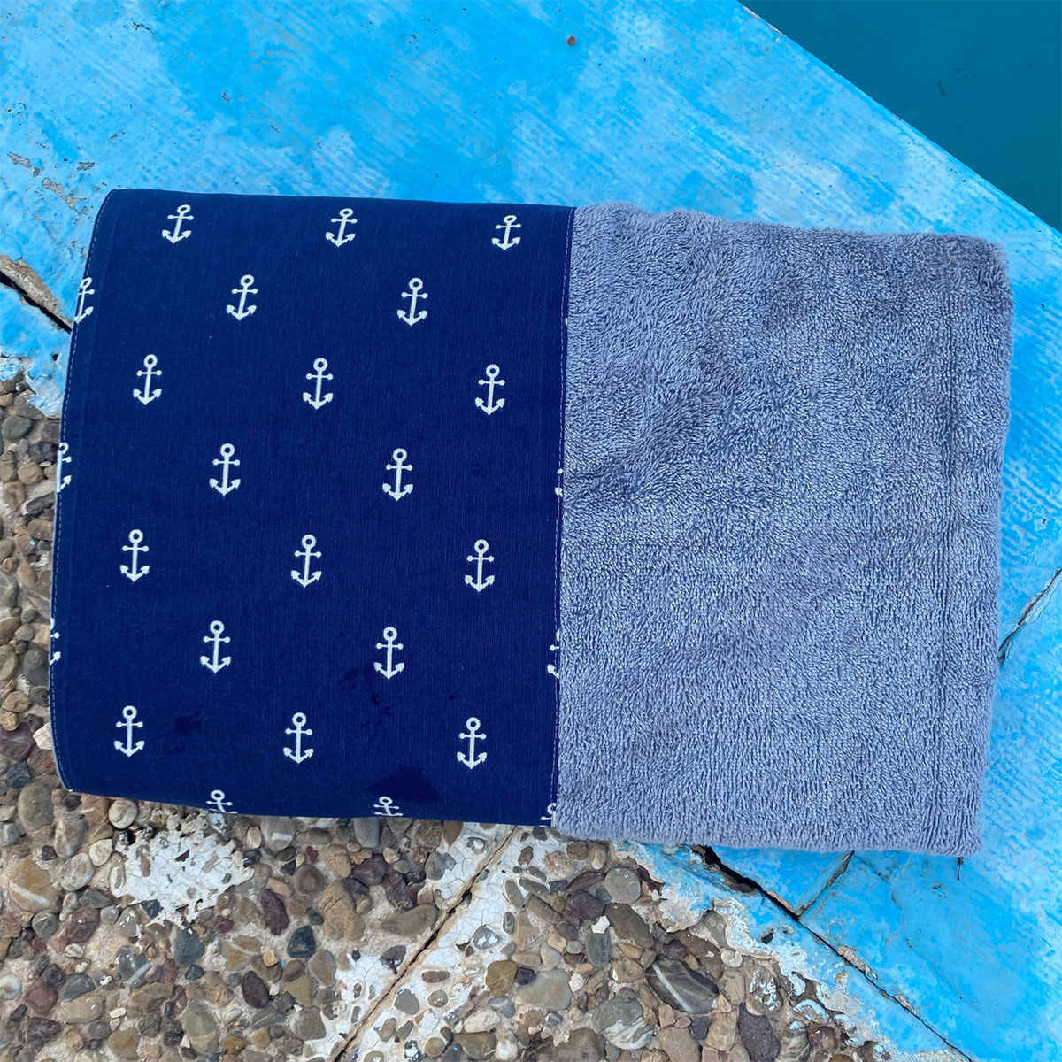 Πετσέτα Θαλάσσης White Fabric A Picco