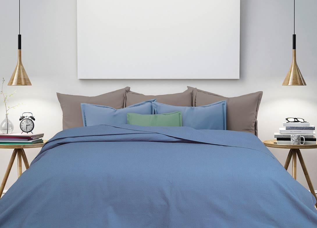 Κουβέρτα Πικέ Υπέρδιπλη Das Home Blanket Line 350 47589