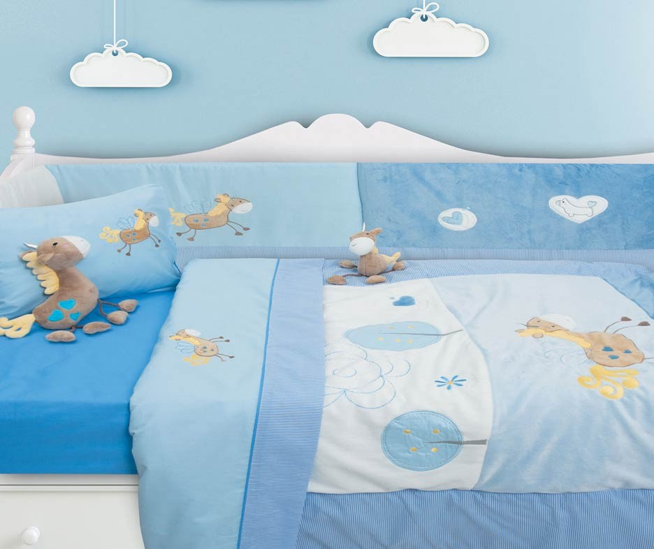Κουβερλί Κούνιας (Σετ) Das Home Dream Embroidery 6335