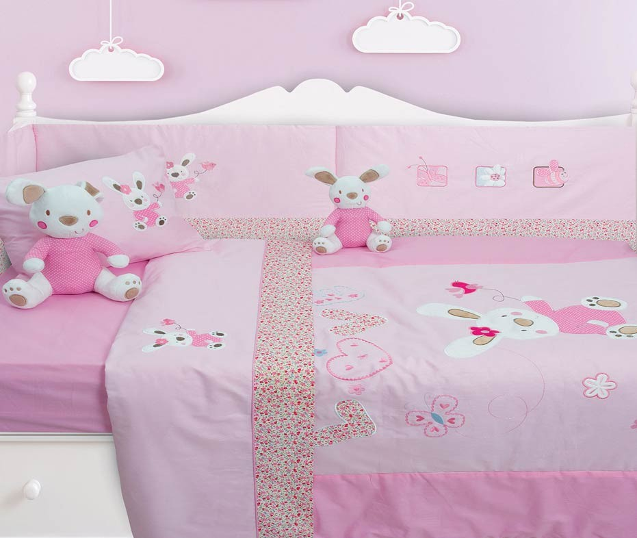 Κουβερλί Κούνιας (Σετ) Das Home Dream Embroidery 6336