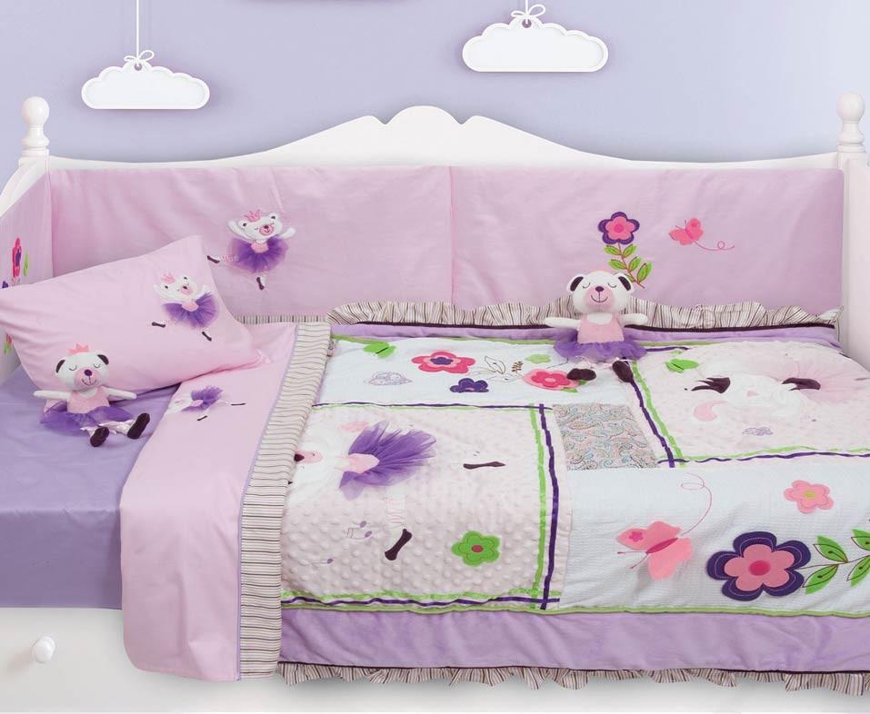 Κουβερλί Κούνιας (Σετ) Das Home Dream Embroidery 6338