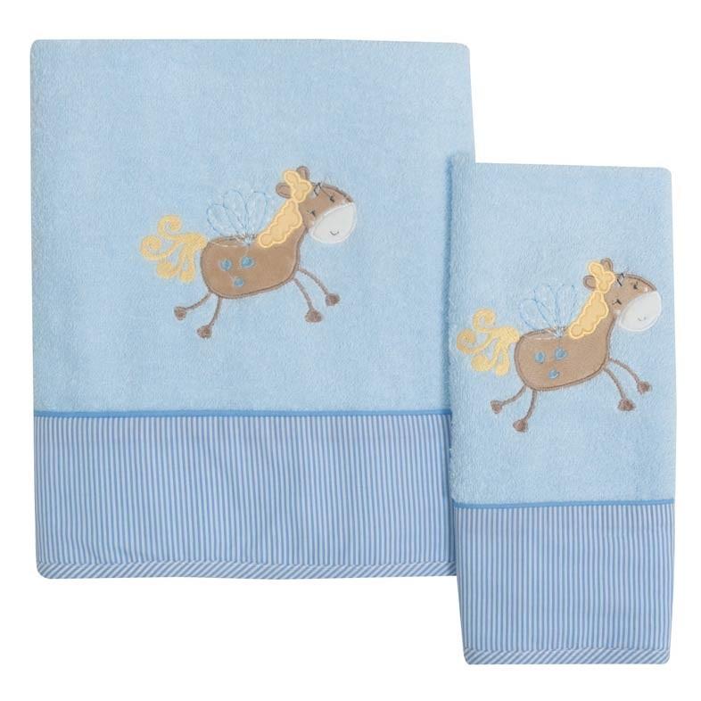 Βρεφικές Πετσέτες (Σετ 2τμχ) Das Home Dream Embroidery 6335
