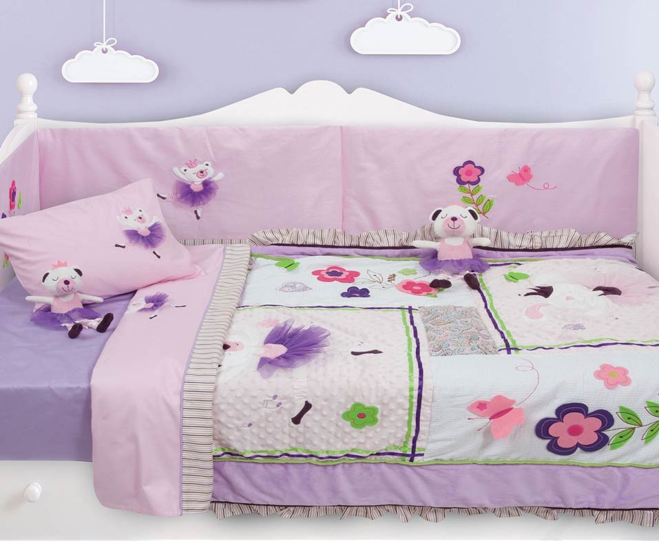 Πάντα Κούνιας Das Home Dream Embroidery 6338 home   βρεφικά   πάντες κούνιας