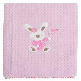 Κουβέρτα Πικέ Αγκαλιάς Das Home Dream Embroidery 6336