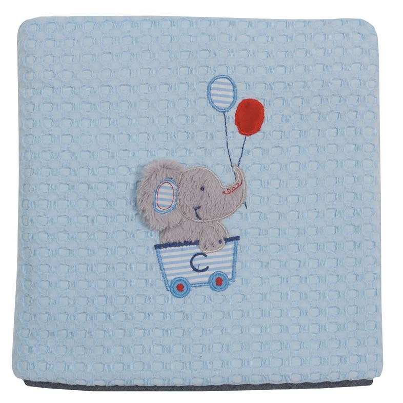 Κουβέρτα Πικέ Κούνιας Das Home Dream Embroidery 6337