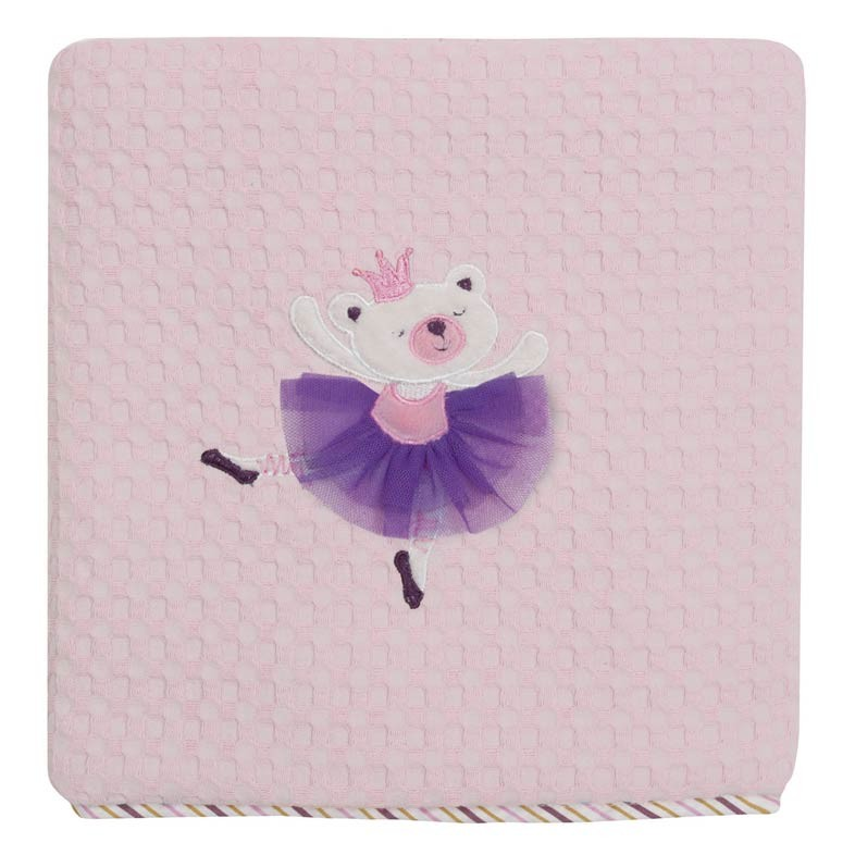 Κουβέρτα Πικέ Κούνιας Das Home Dream Embroidery 6338