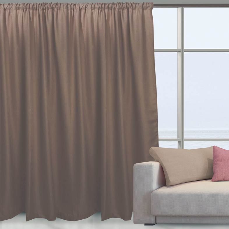 Κουρτίνα (140x280) Das Home 2041