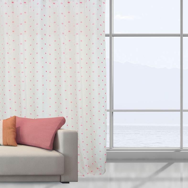 Κουρτίνα (140x280) Με Τρέσα Das Home 2042