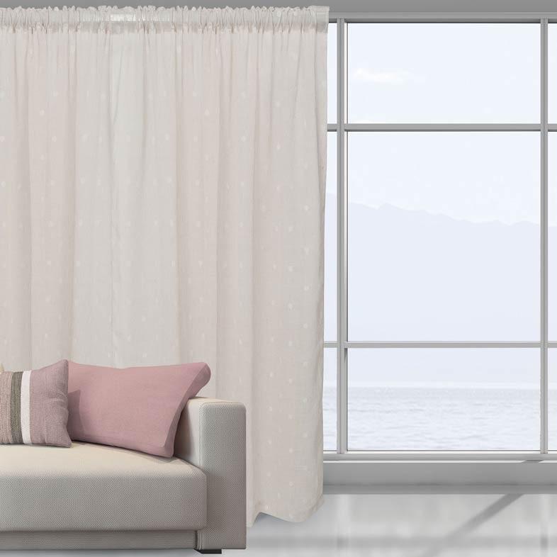 Κουρτίνα (140x280) Das Home 2043