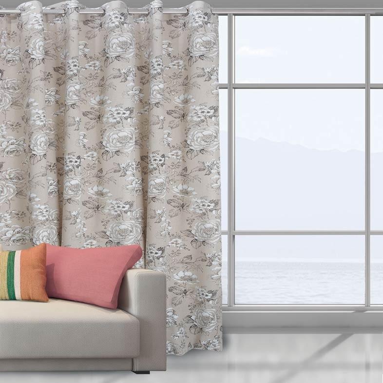 Κουρτίνα (140x280) Das Home 2032