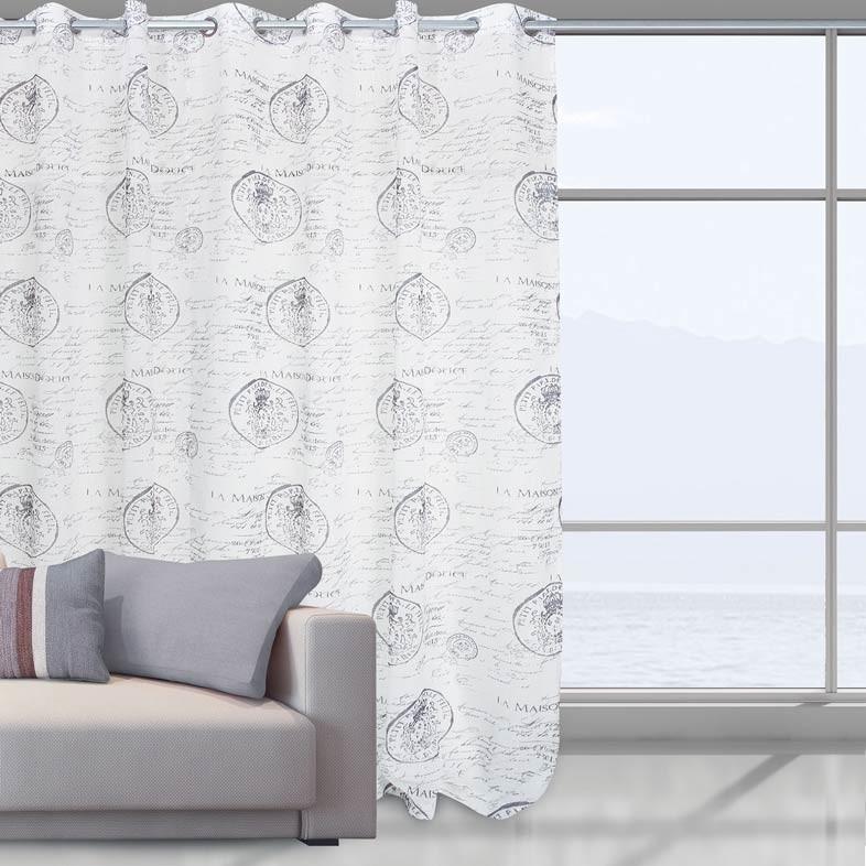 Κουρτίνα Με Τρουκς (290x280) Das Home 2030
