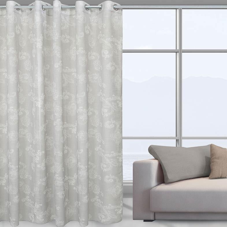 Κουρτίνα Με Τρουκς (140×280) Das Home 2038