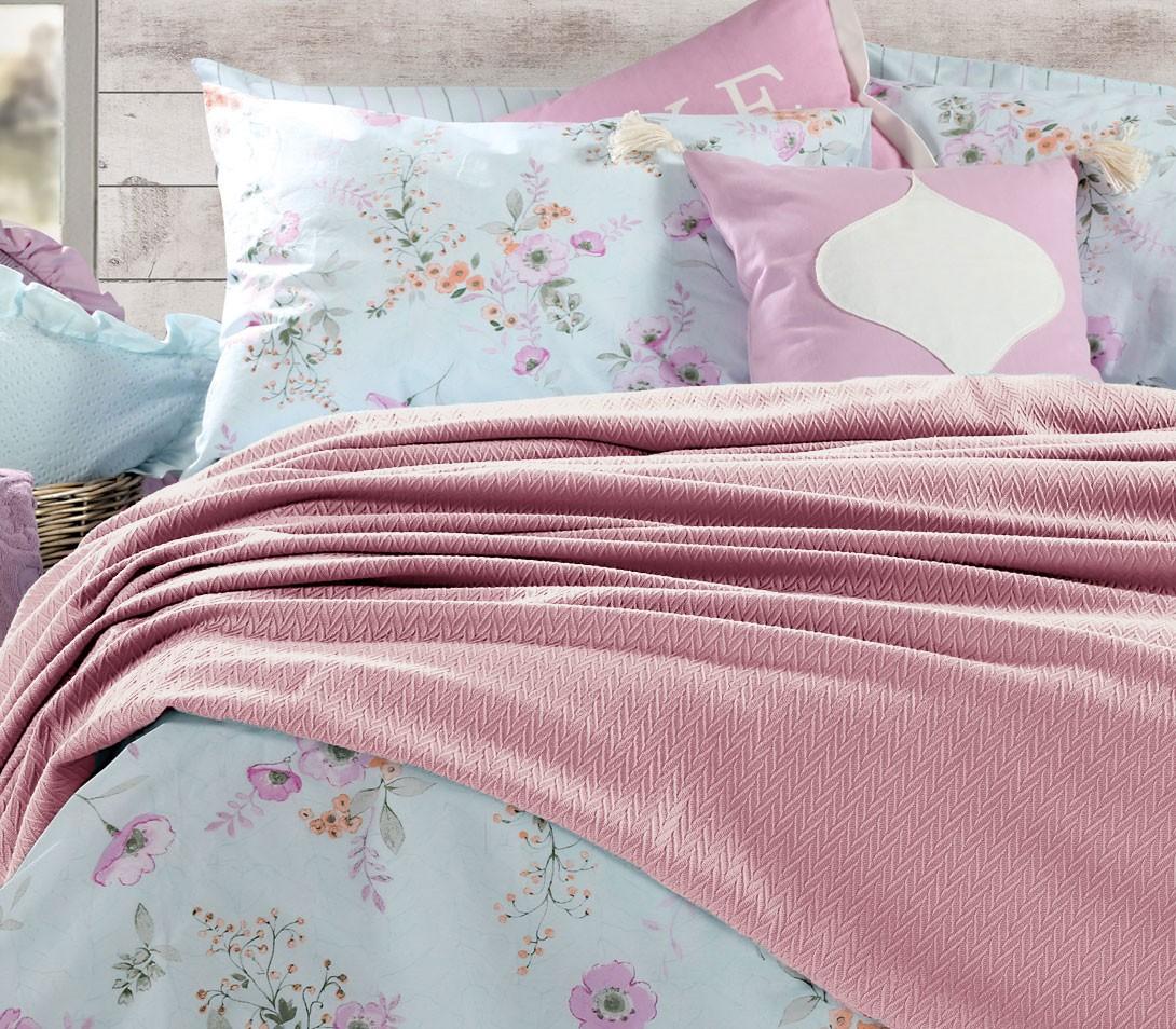 Κουβερτόριο Υπέρδιπλο Nef-Nef Bedcovers Apollo Pink home   κρεβατοκάμαρα   κουβέρτες   κουβέρτες καλοκαιρινές υπέρδιπλες