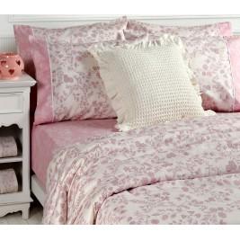 Παπλωματοθήκη Υπέρδιπλη (Σετ) Nef-Nef Premium Kyla Pink