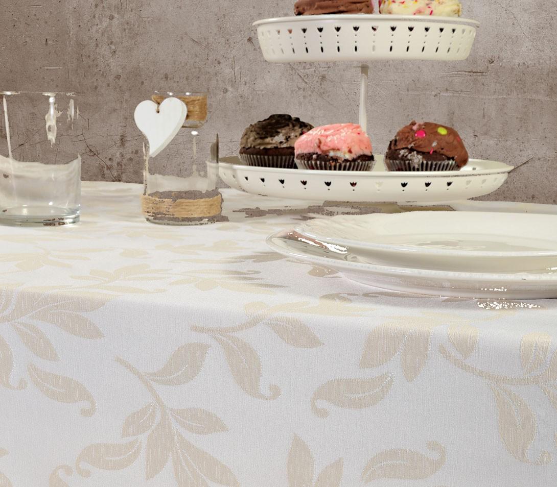 Τραπεζομάντηλο (160x260) Nef-Nef Kitchen Sonia Ecru