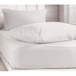 Ζεύγος Μαξιλαροθήκες Μακό Nef-Nef Jersey White