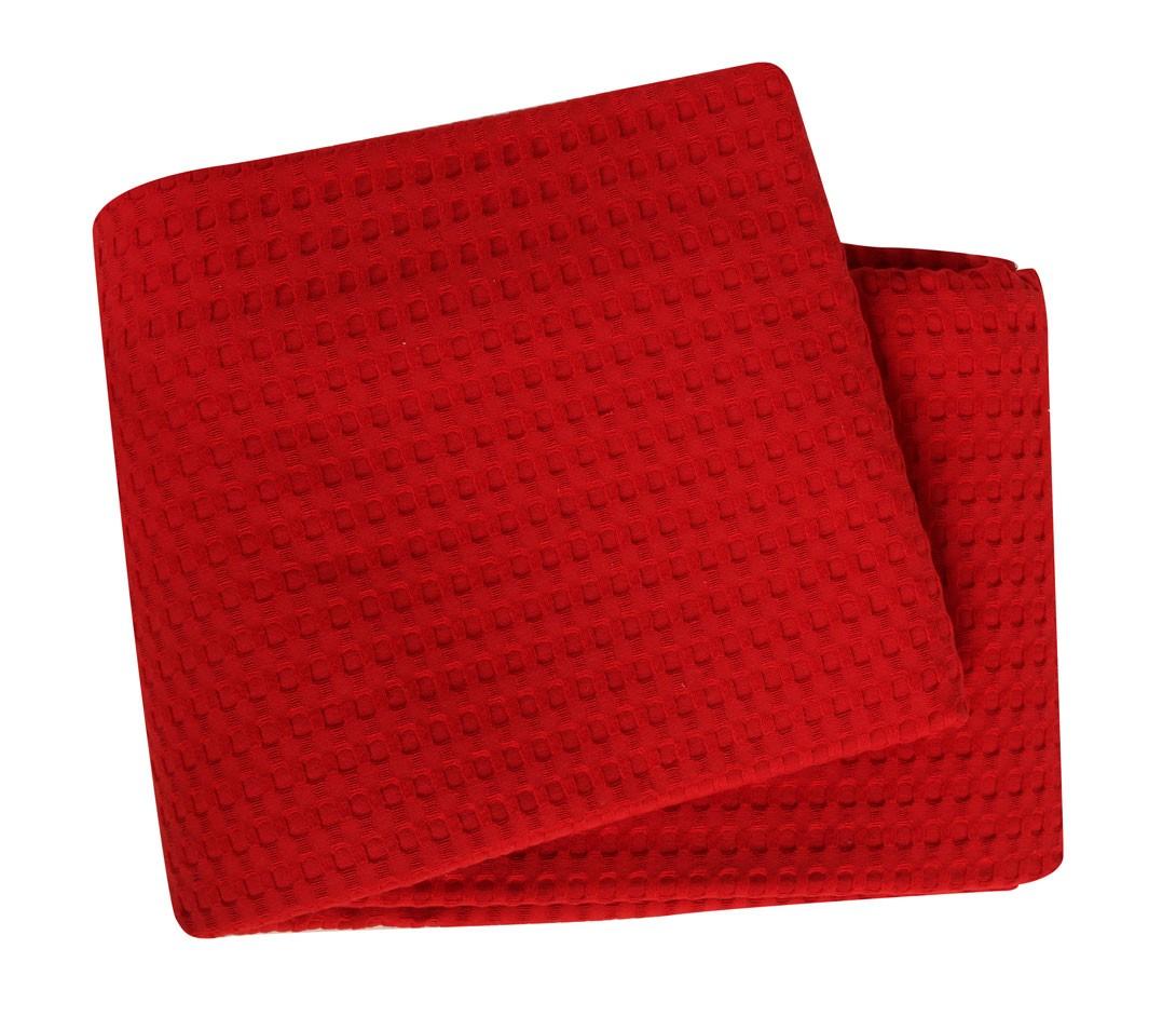 Κουβέρτα Πικέ Μονή Nef-Nef Golf Red 47894