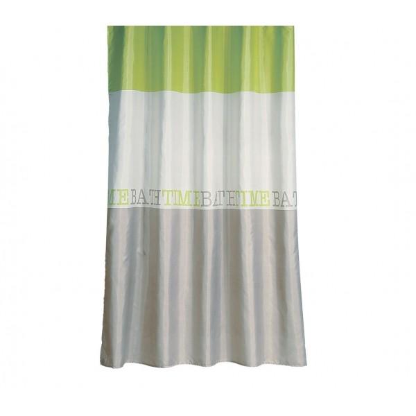 Κουρτίνα Μπάνιου (180x180) Nef-Nef Bath Time Lime