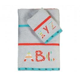 Παιδικές Πετσέτες (Σετ) Nef-Nef Alphabet Grey