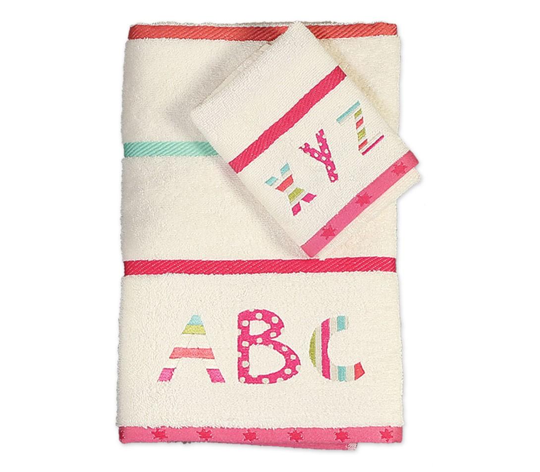 Παιδικές Πετσέτες (Σετ 2τμχ) Nef-Nef Alphabet Beige