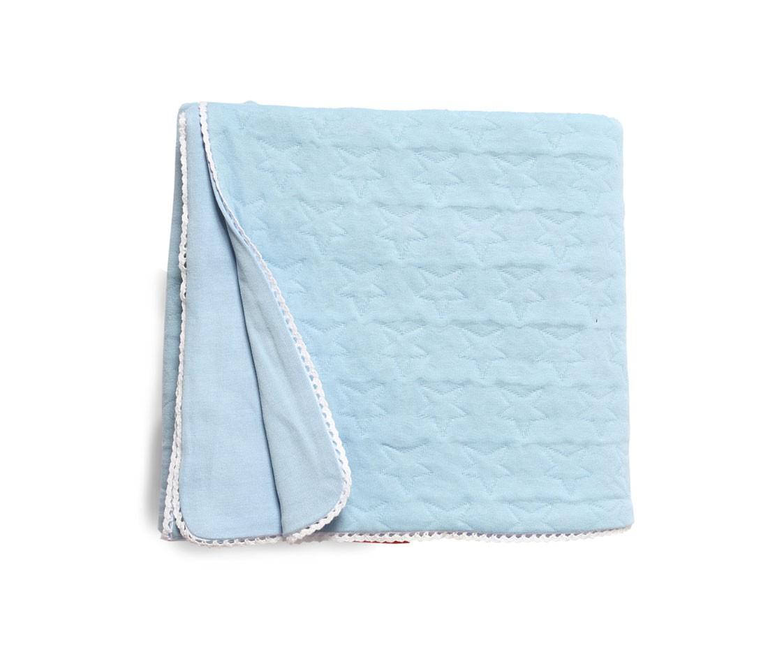 Κουβερτόριο Κούνιας Nef-Nef Cute Stars Blue home   βρεφικά   κουβέρτες βρεφικές   κουβέρτες καλοκαιρινές