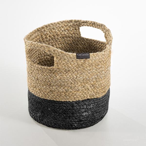 Καλάθι Αποθήκευσης (30x30x30) Guy Laroche Jute Basket Black