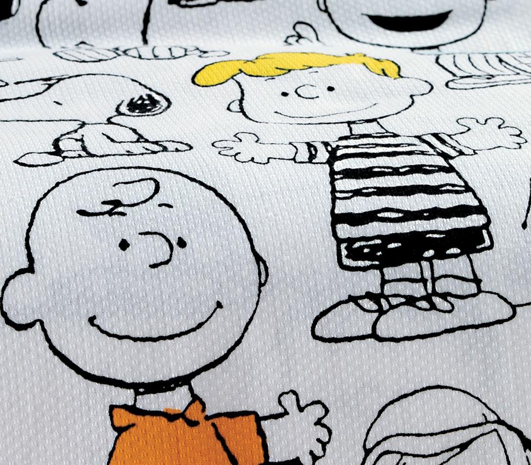 Κουβέρτα Πικέ Μονή Nef-Nef Snoopy Friends