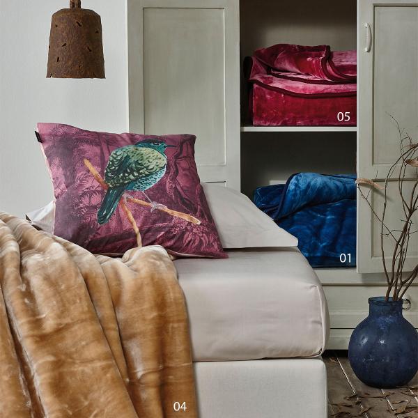 Κουβέρτα Βελουτέ King Size Kentia Loft Notte AW2021